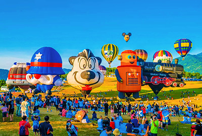 台東年度盛事,隱藏版熱氣球曝光,套票不到1600。