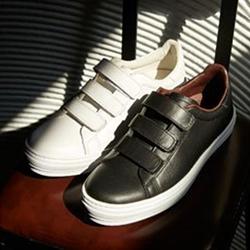 真皮休閒氣墊鞋