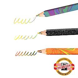 KOH-I-NOOR HARDTMUTH ★光之山★六角彩虹魔術色鉛筆。3支組 捷克原裝