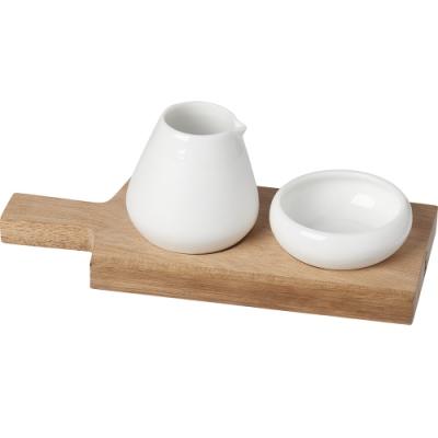 《RADER》附木盤+糖奶罐2件