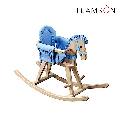 Teamson 動物樂園成長型小木馬搖搖椅(2色)