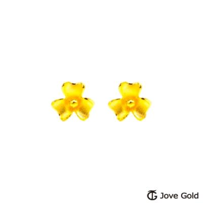 Jove Gold 漾金飾 嬌嫩黃金耳環