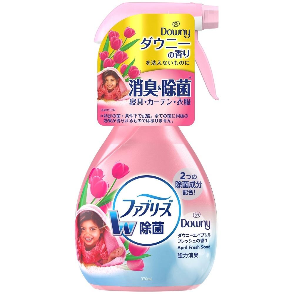 日本【P&G】FebrezeW布料.衣物除菌消臭 噴霧370ml(四月花香)