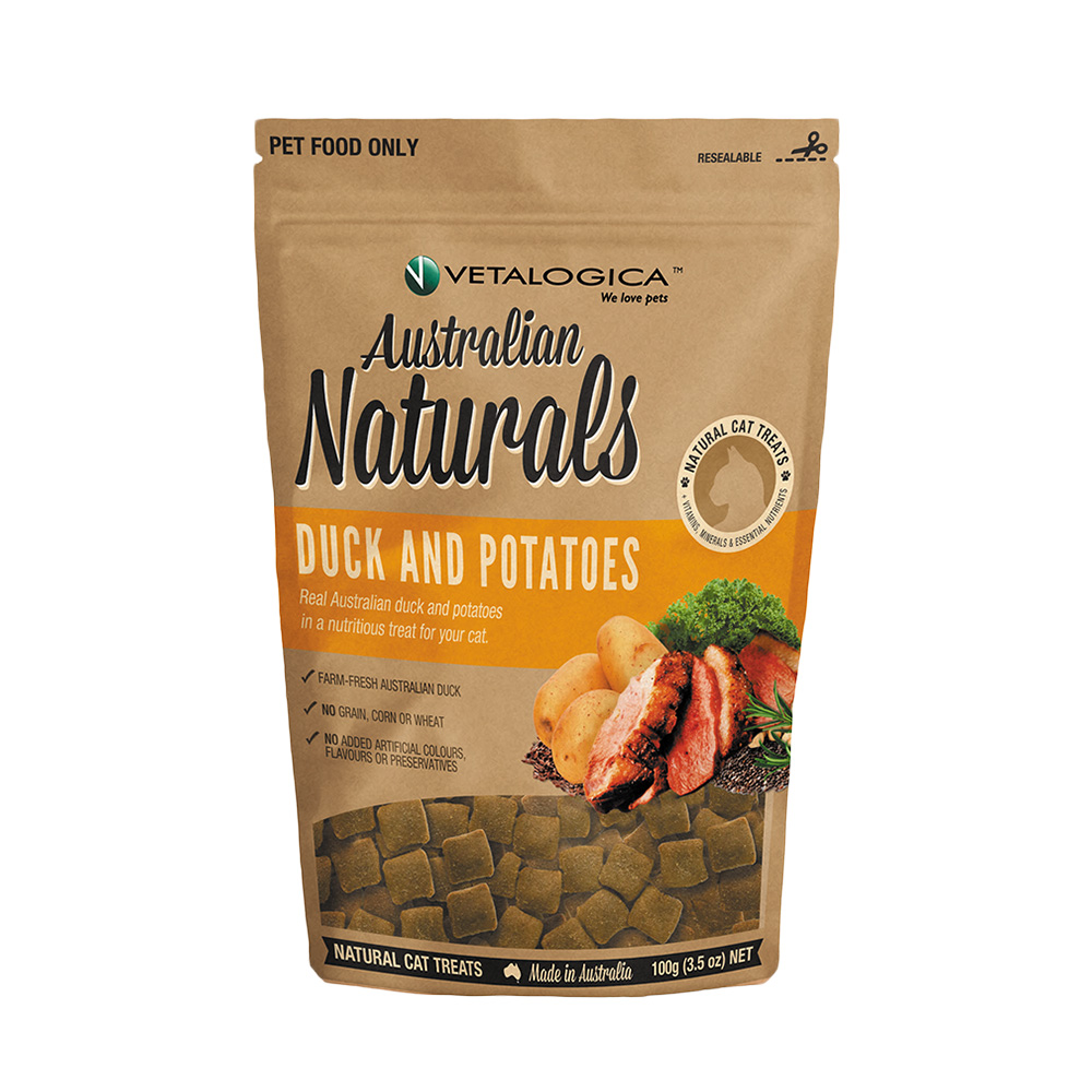 Vetalogica 澳維康 貓咪天然保健零食 低脂好美味