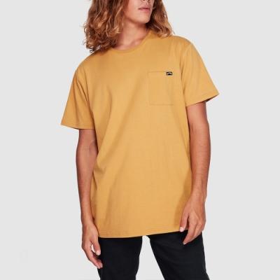 BILLABONG PREMIUM POCKET 短袖T恤 金黃-9562046GOL