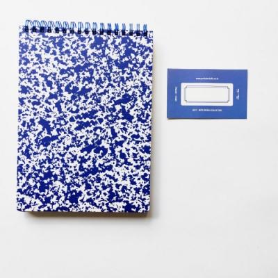 Prelude 磨石子線圈筆記本-靛藍