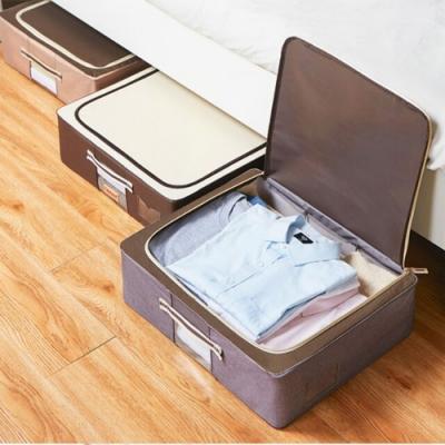 加厚牛津布床下收納箱 床底整理 層櫃收納 衣物玩具整理
