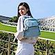 Kipling 歡樂繽紛藍多口袋拉鍊後背包-MATTA product thumbnail 1