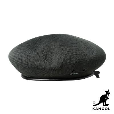 KANGOL-TROPIC 貝蕾帽-橄欖綠色