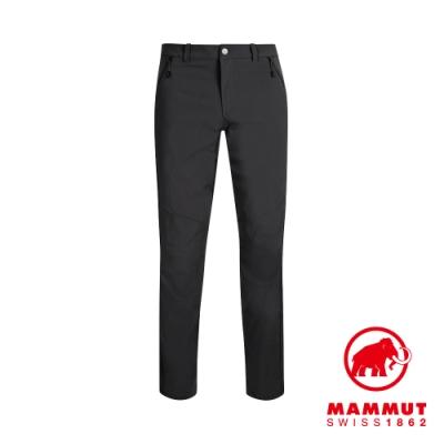 【Mammut 長毛象】Hiking Pants 經典健行長褲 黑色 男款 #1022-00420