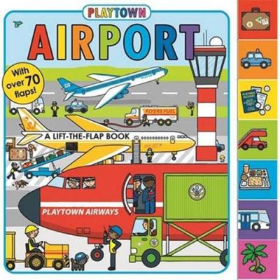 Playtown:Airport 歡樂城國際機場硬頁翻翻操作書(美國版)
