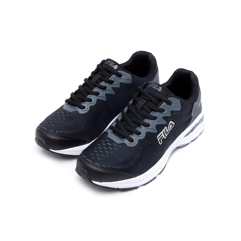 FILA 中性慢跑鞋-黑色 4-J201U-001