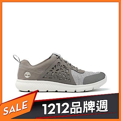 Timberland 女款灰色正絨面皮革Boltero低筒靴|A1QSI