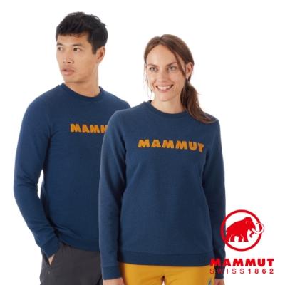 【Mammut 長毛象】ML Pull LOGO上衣 水鴨藍 男款 #1014-01530