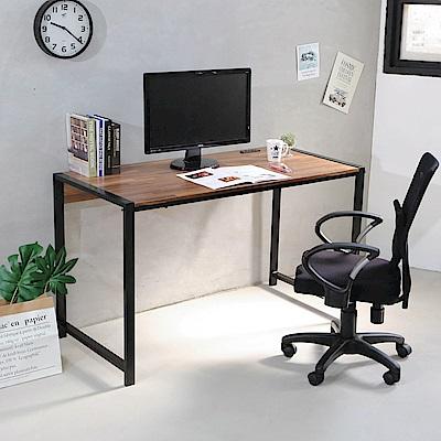 澄境 工業風附插座加粗鐵管電腦桌/工作桌/書桌110x60x75.5cm-DIY