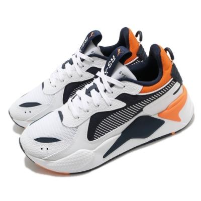 Puma 休閒鞋 RS X Hard Drive 男女鞋 厚底 舒適 簡約 球鞋 情侶穿搭 白 藍 36981808