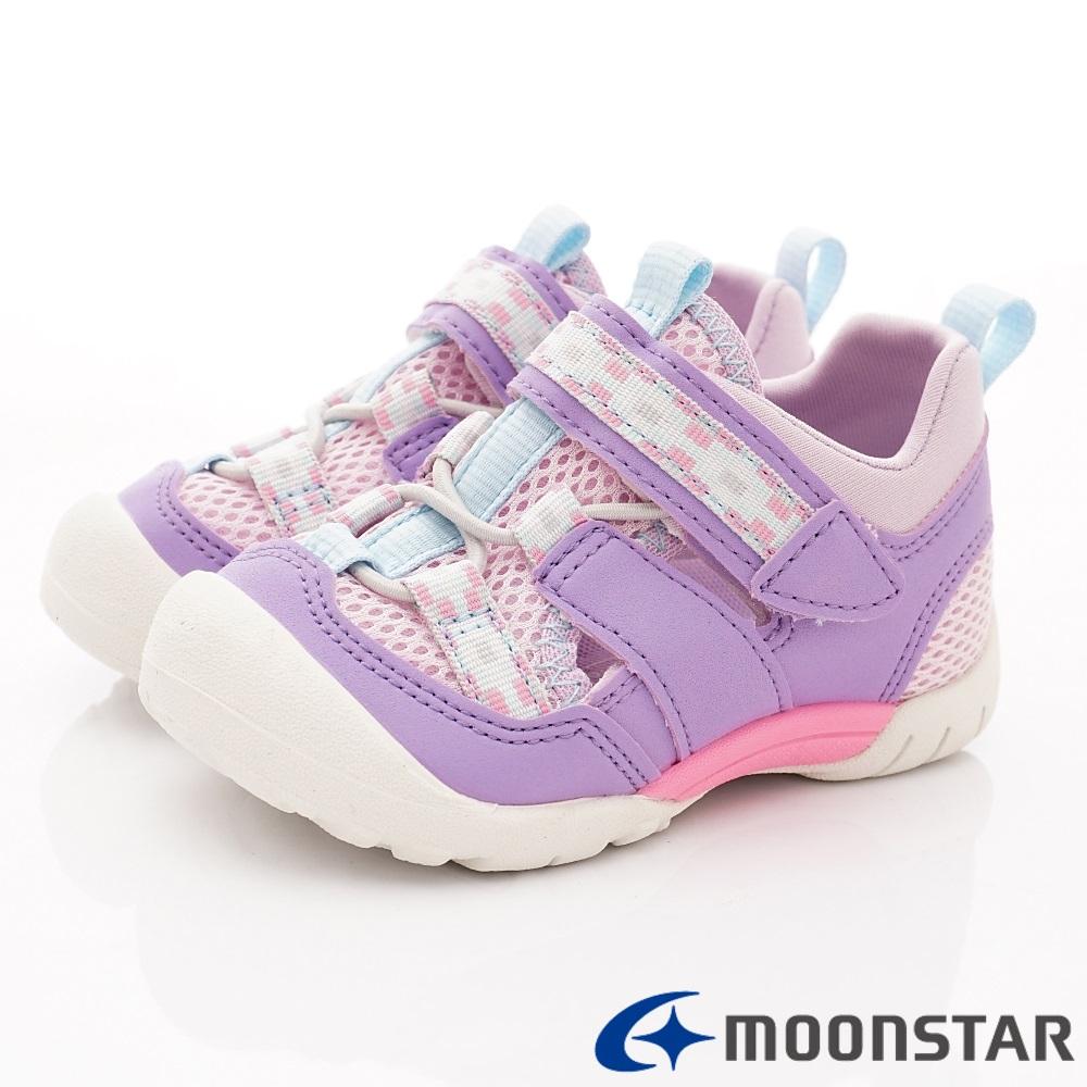 日本Carrot機能童鞋 2E玩耍速乾公園鞋 TW2319紫(中小童段)