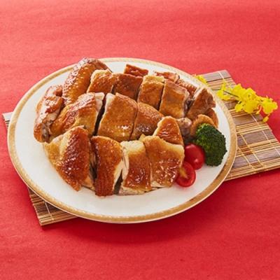 元榆牧場 甘蔗雞禮盒(750g切盤)(CAT)