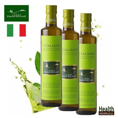 特羅法蘭斯坎 L italiano特級冷壓初榨橄欖油500ml 三入組