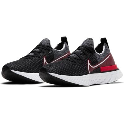 NIKE 運動鞋 運動 健身 慢跑  男鞋 黑紅 CD4371014 REACT INFINITY RUN FK