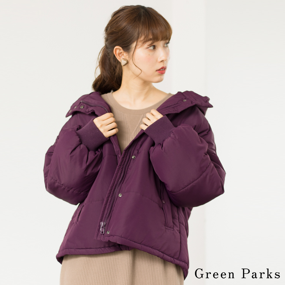 Green Parks 休閒感夾層連帽外套