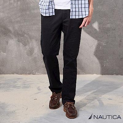 Nautica經典美式休閒長褲 -黑