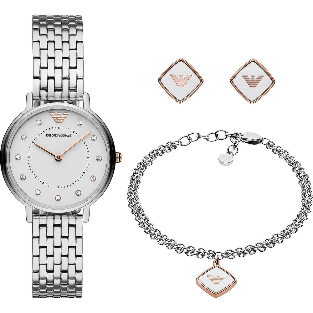 Emporio Armani Dress 亞曼尼晶鑽女仕套錶組-32mm