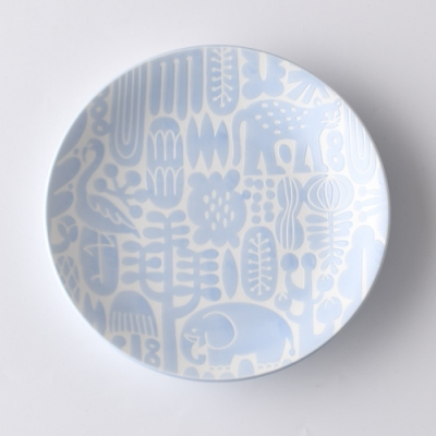 日本Natural69 波佐見燒 Utopia系列 甜點盤  15cm 水青藍 日本製