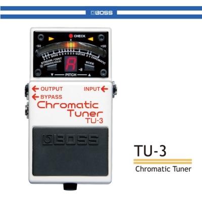 BOSS TU-3 半音階調音器/贈導線/公司貨保固