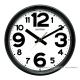 [時時樂限定]RHYTHM日本麗聲 多樣風格高CP值超靜音座掛兩用鐘系列(多款可選)