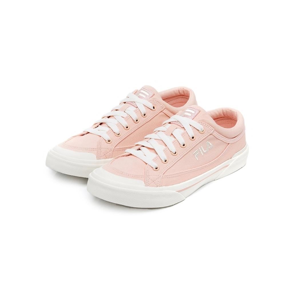 FILA MILK CRATE 中性帆布鞋-粉 4-C618U-661