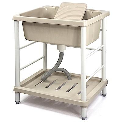 Aaronation 新型大單槽塑鋼洗衣槽 GU-A1006