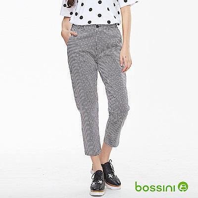 bossini女裝-彈性修身褲05淺灰