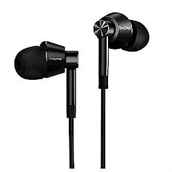 1MORE 雙單元圈鐵耳機-黑/E1017-BK
