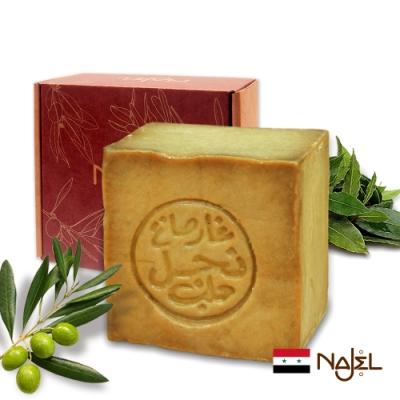 正宗敘利亞Najel月桂油40%阿勒坡手工古皂185g