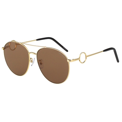 VEDI VERO 太陽眼鏡(金色)VV30-BR