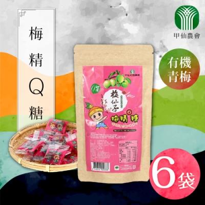 家購網嚴選 甲仙農會梅精Q糖 50gx6袋