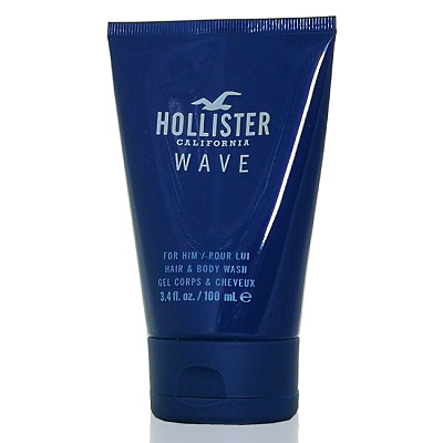 Hollister california Wave 加州海浪男性沐浴精 100ml 無外盒