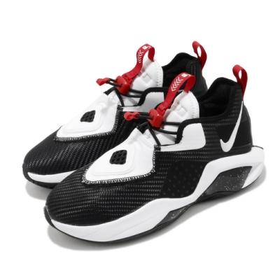 Nike 籃球鞋 LeBron Soldier XIV 女鞋 避震 包覆 明星款 運動 大童 球鞋 黑 白 CN8689002