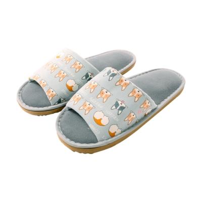 台灣製靜音防滑居家布拖鞋 sd0596 魔法Baby