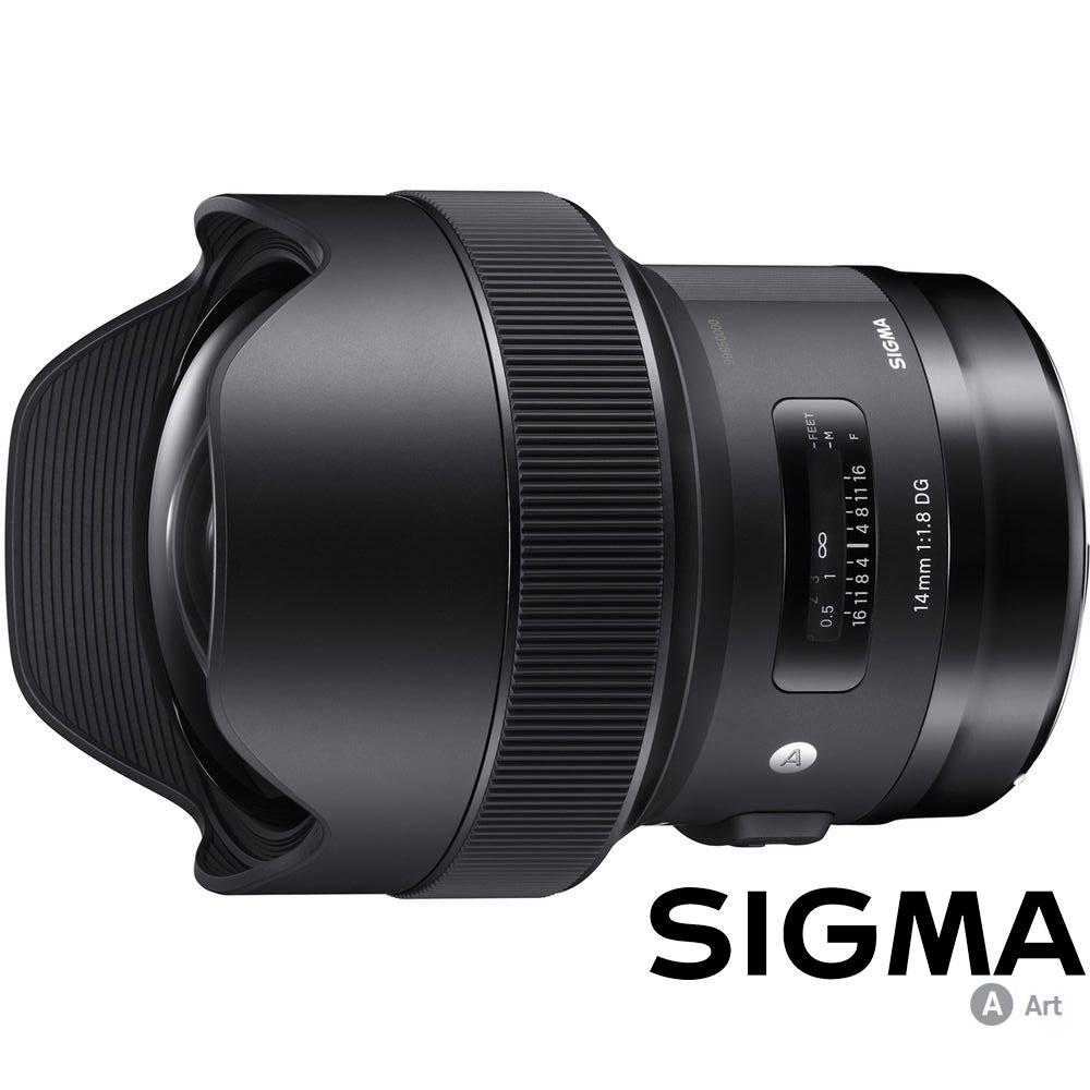 SIGMA 14mm F1.8 DG HSM Art (公司貨)