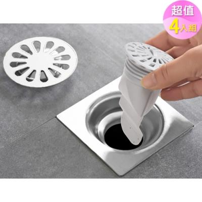 【歐達家居】(4入組)排水口過濾防臭防蟲防味器(衛浴/浴室)