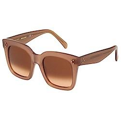 CELINE 大方框 太陽眼鏡(藕色)CL41076S