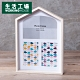 【品牌週全館8折起-生活工場】Sweet home 三格相框 product thumbnail 1