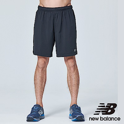 New Balance 慢跑運動短褲 AMS81265BK 男性 黑色