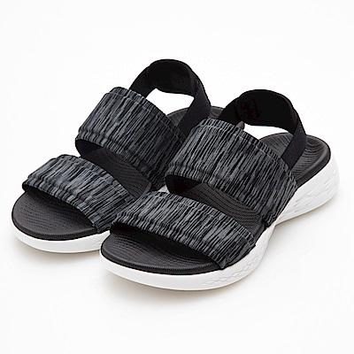 SKECHERS(女)時尚休閒系列ON THE GO 600涼鞋-15309BKW