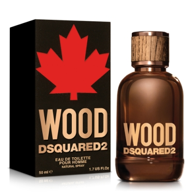 DSQUARED2 WOOD 天性男性淡香水50ml
