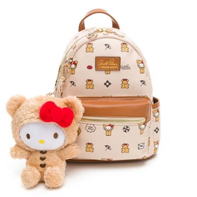 Hello Kitty聯名- 小後背包 SPOIL / 熊愛你系列-咖色
