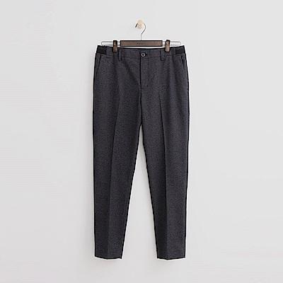 Hang Ten - 男裝 - 純色質感直筒褲 - 灰