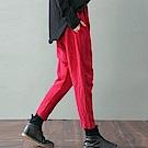休閒褲-肌理棉麻文藝哈倫XK909-設計所在